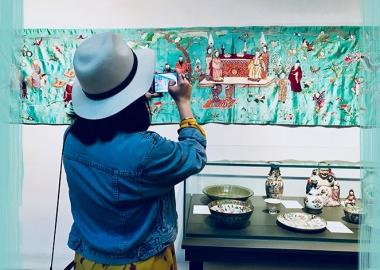 უცნობი აღმოსავლური ხელოვნების კოლექცია სიმონ ჯანაშიას სახელობის მუზეუმში