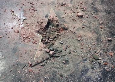 ჰოლივუდში უცნობმა პირმა ტრამპის ვარსკვლავი გაანადგურა