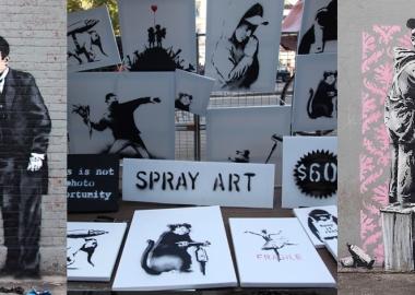 Banksy-ს ფინანსები - როგორ იშოვება ფული სტრიტ არტში