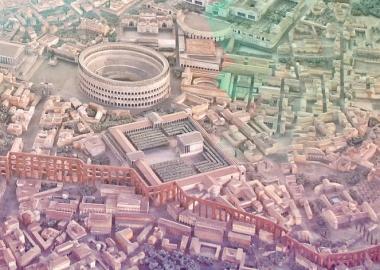 ანტიკური რომის მოდელი, რომელიც მუსოლინის დავალებით შეიქმნა