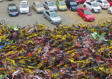 ჩინეთის საზიარო ველოსიპედების მასობრივი სასაფლაოები