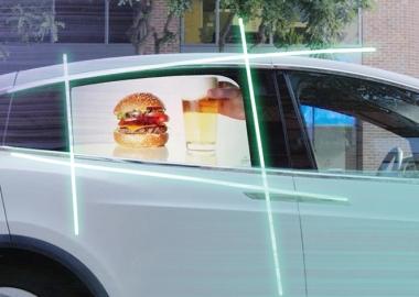 კერძო ავტომობილებში სარეკლამო პროექციის ტექნოლოგია ინერგება