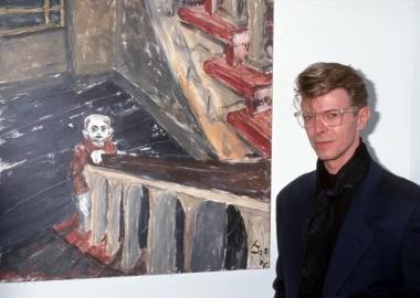 ცნობილი მუსიკოსები და მათი მხატვრობა - Miles Davis & David Bowie