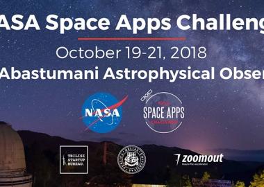 NASA Space Apps Challenge - გლობალური ჰაკათონი საქართველოში