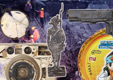 ამსტერდამის მეტროს გაყვანისას აღმოჩენილი არტეფაქტები