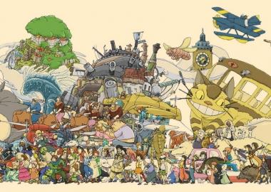 Ghibli Studio Top 10 და + 1 ანიმე