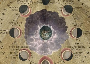 კოსმოსისა და ციური სხეულების ძველი ილუსტრაციები