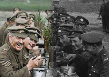 პირველი მსოფლიო ომის კადრების გამაოგნებლად რეალისტური რესტავრაცია