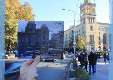 """თანამედროვე თბილისში """"ჩასმული"""" ძველი ფოტოები - ფოტოპროექტი"""