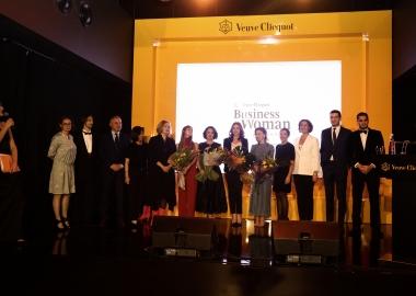 Veuve Clicquot სახელობის საქმიანი ქალის 2018 წლის ჯილდოს მფლობელი თინათინ  რუხაძე გახდა