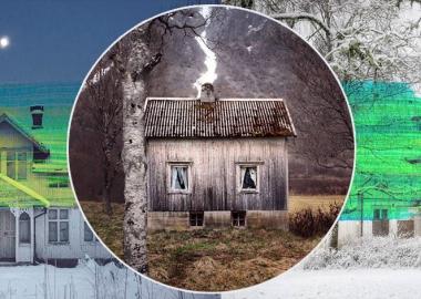 მიტოვებული სახლები არქტიკაში