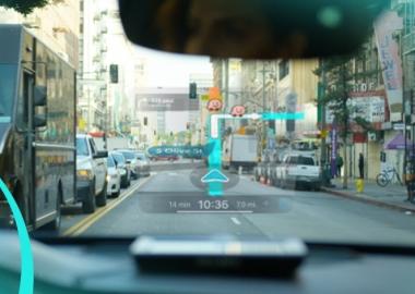 თქვენი მობილურის ეკრანი მანქანის საქარე მინაზე - EyeDrive