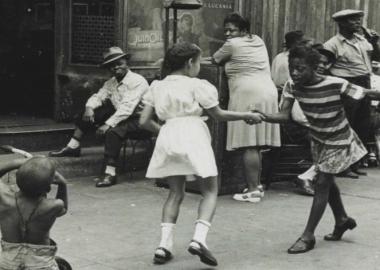 ნიუ იორკი, ბავშვები და ქუჩის ფოტოგრაფია 80 წლის წინ - ელენ ლევიტი