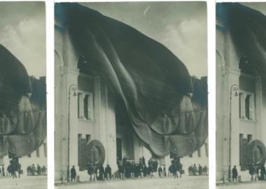 ფერმწერ დავით კაკაბაძის გადაღებული საქართველოს მუზეუმი - დღის ფოტო