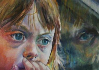 ნახატი დაუნის სინდრომის მქონე ადამიანების საერთაშორისო დღისთვის - როკო ირემაშვილი