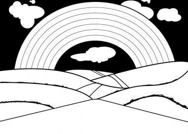 შავ-თეთრი ცისარტყელა