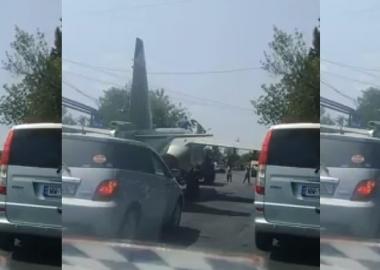 თბილისში პატრულმა თვითმფრინავის პილოტი დააჯარიმა - დღის VIDEO