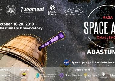 აბასთუმანში გამართულ NASA Space App Challenge-ზე ორმა გუნდმა Global Award-ის საგზური მოიპოვა