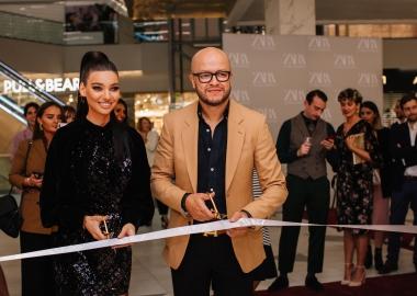 საბურთალოზე Zara-ს ახალი მაღაზია გაიხსნა