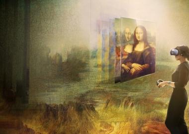 """""""გაცოცხლებული"""" მონა ლიზა: როგორია ლუვრის ვირტუალური რეალობის გამოფენა?"""