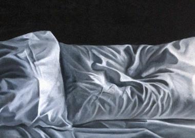 ზეთში შესრულებული  ცარიელი  საწოლების რეალისტური ნამუშევრები  მწუხარებასა და მარტოობის შეგრძნებას იწვევს