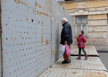 """""""ბერლინის კედელი"""" თბილისში - დღის ფოტო - დინა ოგანოვა"""