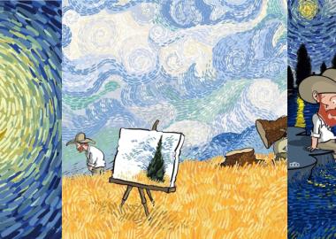 ვინსენტ ვან გოგის ცხოვრება ირანელმა კარიკატურისტმა კომიქსების სერიად აქცია