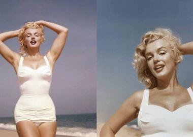 ნახეთ მერლინ მონროს დღემდე უცნობი ფოტოები, რომლებიც 1957 წელსაა გადაღებული