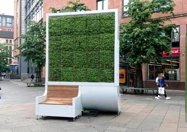 """ლონდონის თითო """"ხელოვნური ხე"""" იმდენივე დაბინძურებულ ჰაერს ფილტრავს, რამდენსაც 275 ნამდვილი ხე"""