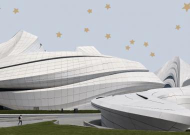 ჩინეთის ახალი კულტურული ცენტრი არქიტექტორ ზაჰა ჰადიდის შესრულებით