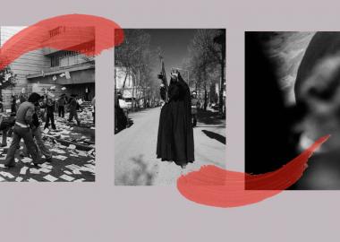 ირანის რევოლუციის პირველი ათწლეული ქავე ქაზემის ფოტოებში