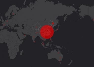 კორონავირუსის გავრცელების ინტერაქტიული რუკა