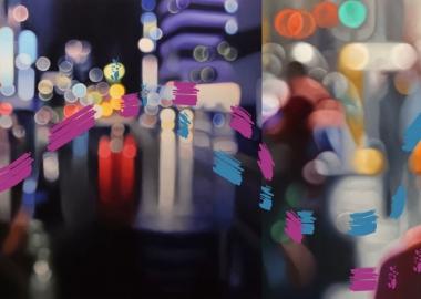 ნახატები ზეთში, რომელიც უფოკუსო ფოტოებს ჰგავს - Philip Barlow
