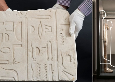 მამაკაცმა ცურვის დროს 3400 წლის ეგვიპტური ქვის ღუზა აღმოაჩინა