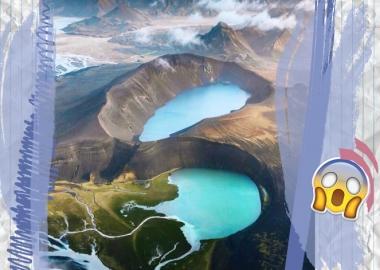 საოცარი საჰაერო ფოტოები ისლანდიის მაღალმთიანეთიდან