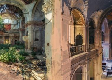 იტალიის  მივიწყებული  ეკლესიების საოცარი ფოტოები