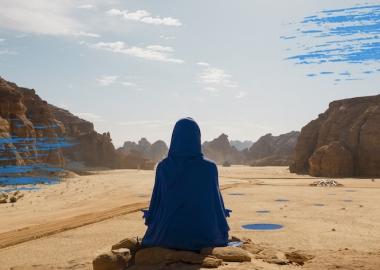14-მა ხელოვანმა საუდის არაბეთის უდაბნო თანამედროვე ხელოვნების ოაზისად აქცია