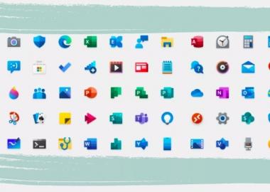 Microsoft-მა Windows 10-ის ახალი ფერადი აიკონები შექმნა