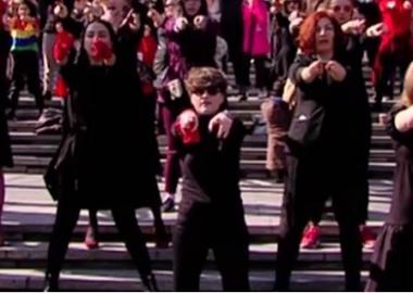 ქალები ფემიციდის წინააღმდეგ - დღის ვიდეო