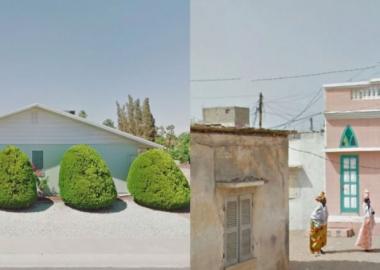 """ფოტოგრაფი, რომელიც """"ფოტოებზე აღბეჭდავს"""" არაამქვეყნიურ ადგილებს Google Street View-ში - iD"""