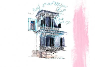 დროის პორტალები - ტატიშჩევის ცისფერი სახლი