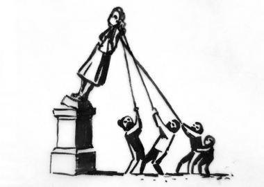 Banksy-მ ბრისტოლში მონობის მემორიალისთვის ორიგინალური იდეა წარადგინა