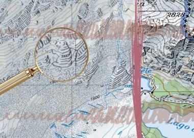 შვეიცარიის ძველ რუკებში კარტოგრაფების ჩამალული საიდუმლო ილუსტრაციები