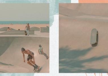 """სამხრეთ კალიფორნიის პასტელური სკეიტ-პარკები - ფრენკ ბობოტის ფოტოსერია """"სკოლის შემდეგ"""""""