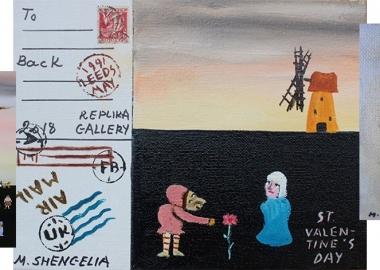 მიშა შენგელია - მხატვარი, პერფორმერი და ინტერპრეტატორი