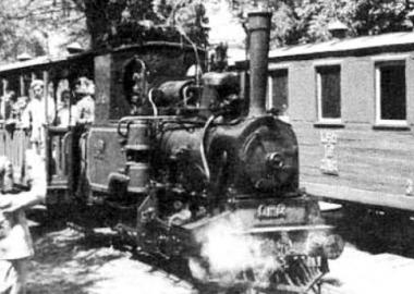 დღეს: 1935 წლის 24 ივლისს მუშტაიდის ბაღში საბავშვო რკინიგზა გაიხსნა