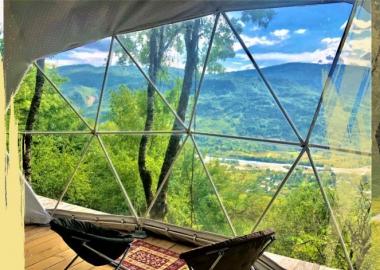 ხის სახლები საქართველოში, სადაც პანდემიის შემდეგ ზაფხულში დასვენებას შეძლებთ
