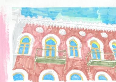 დროის პორტალები - ალექსანდრე შიმკევიჩის ისლამური სახლი