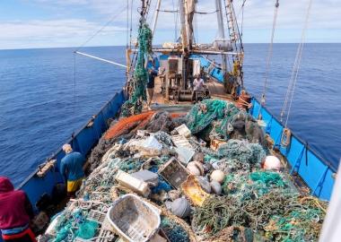 წყნარი ოკეანიდან 103 ტონა პლასტმასი ამოიღეს - Ocean Voyages Institute