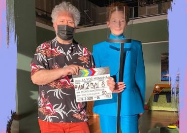 ფოტო: პედრო ალმოდოვარმა და ტილდა სვინტონმა ერთობლივ ფილმზე მუშაობა დაიწყეს